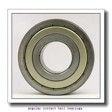 80 mm x 140 mm x 26 mm  FAG QJ216-MPA  Angular Contact Ball Bearings